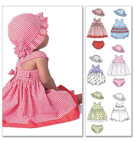 Infant Romper Pattern