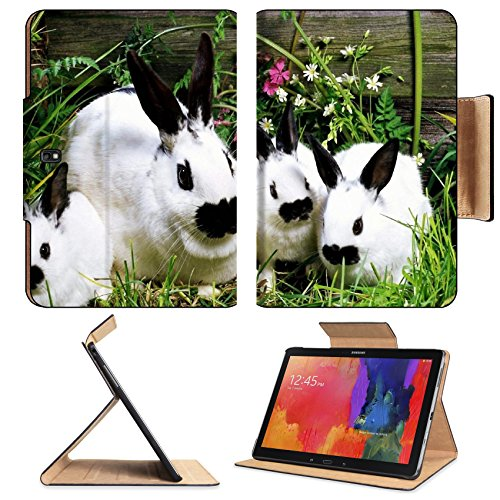 Rabbit Baby Cotton Tail Garden Pets Samsung Note Pro 12.2 Flip Case Stand Smart Magnetic Cover Open Ports Customized Made To Order Support Ready Premium Deluxe Pu Leather Liil Professional Graphic Background Covers Designed Model Folio Sleeve Hd Template front-914150