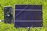 5W 1A 5V Solar Charger Panel DC Power Supply with USB port
