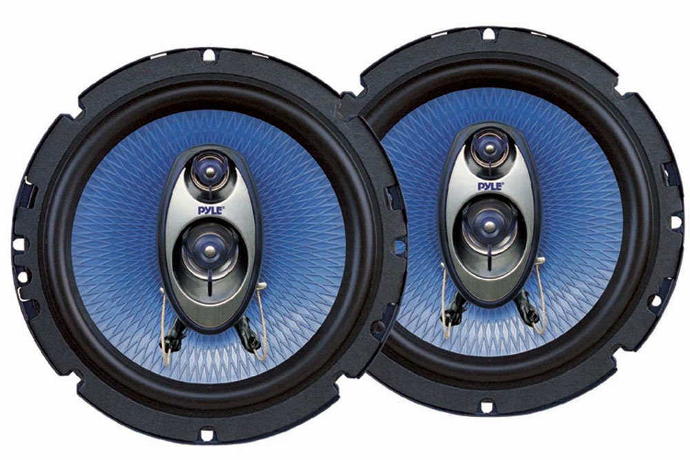 Pyle PL63BL 6.5-Inch 360-Watt 3-Way Speakers (Pair) $18.50