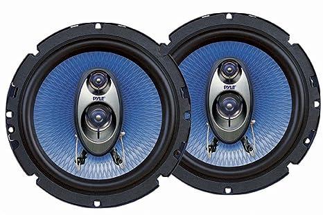 Pyle PL63BL 3 Way Speakers Pair