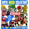 "M OFFICIAL SUPER MARIO BROS - 10"" / 25cm series AQ SOFT TOY NINTENDO 8 to select from (DIDDY KONG AQ 10"" 25 CM)"