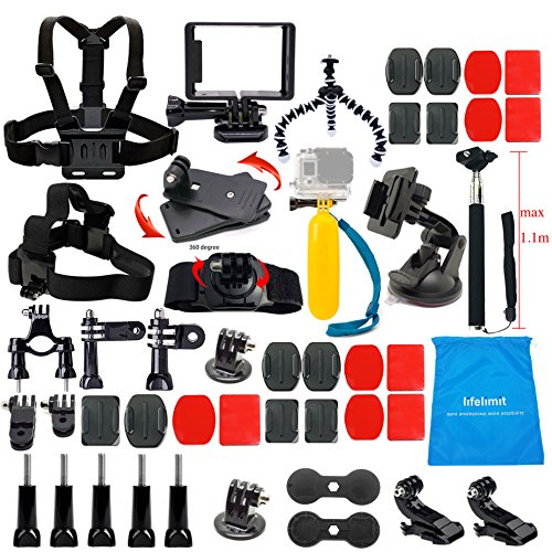 lifelimit-accessories-starter-kit-for-gopro-hero-5-session-4-3-2-hd-original-black-silver-cameras