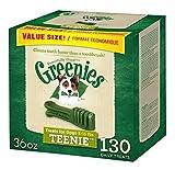 GREENIES Dental Dog Treats, Teenie, Original Flavor, 130 Treats, 36 oz.