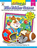 Colorful File Folder Games, Grade 1: Skill-Building Center...