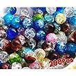 8mm Kugel Kristall Glas Perlen Bead Lose Farbig X200