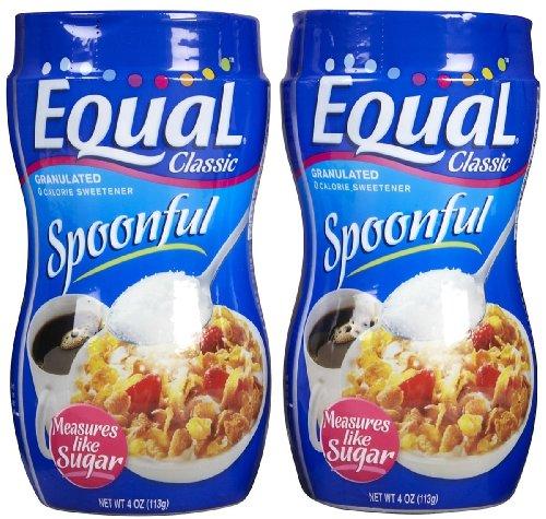 Equal Sweetener Spoonful, 4 oz, 2 pk