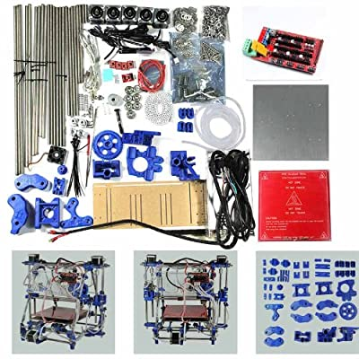 (Express)Geeetech Unassembled/DIY Fully 3D Printer kit Prusa Mendel I2(Iteration 2) RepRap-Controller board:RAMPS1.4+Mega2560
