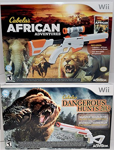 Toys From Cabela S : Wii u cabela s african adventures dangerous hunts