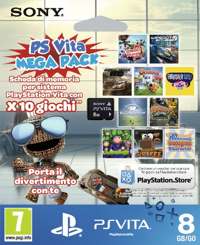 PlayStation Vita – PS Vita Mega Pack Peripheral [Bundle]