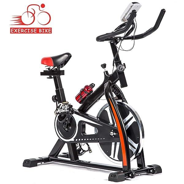 Exercise Bike Cardio Fitness Cycling Machine Gym Workout Training Stationary US