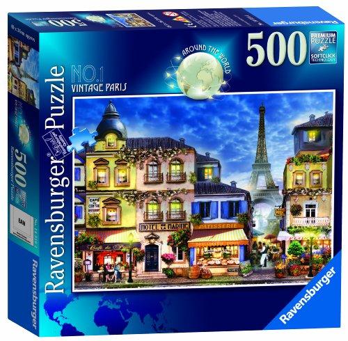 [Import Anglais]Around The World Paris Jigsaw Puzzle 500 pezzi