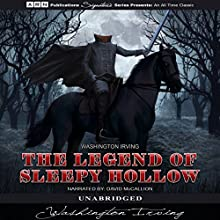 The Legend of Sleepy Hollow Audiobook by Washington Irving Narrated by David McCallion