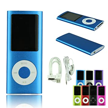 Amazon.com: Voberry 8GB 1.8 Inch 4th Gen MP3 MP4 Player Media ...