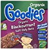 Organix Goodies From 12+ Months Organic Blackcurrant Soft Oaty Bars 6 x 30 g (Pack of 6, Total 36 Bars)