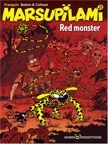 Marsupilami (21) : Red monster