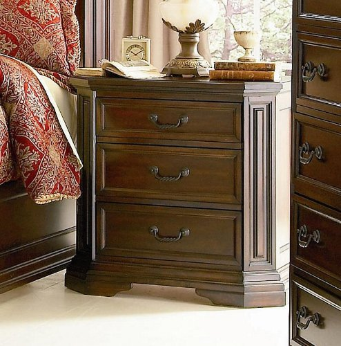 Night Stand Oak front-1069720