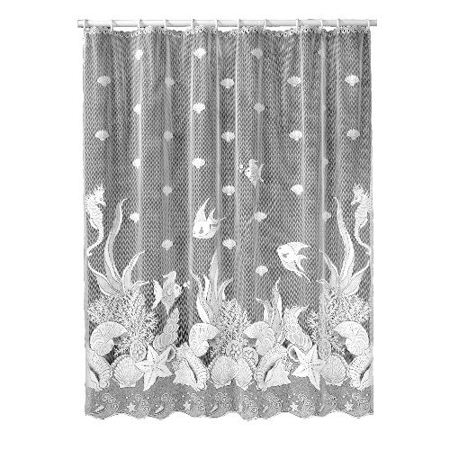Heritage Lace Seascape 72 Inch by 72 Inch Shower Curtain