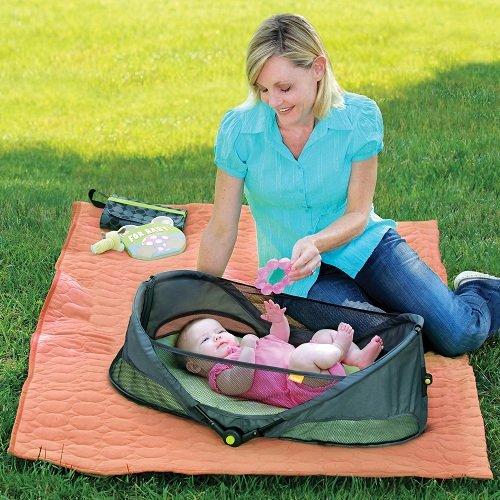 BRICA Fold N' Go 折叠式便携婴儿睡篮图片