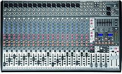 Behringer EURODESK SX2442FX Ultra-Low Noise Design 24-Input 4-Bus Studio/Live Mixer by Behringer USA