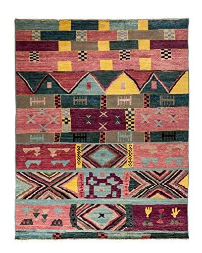 Darya Rugs Kaitag Oriental Rug, Rose, 9' 3 x 11' 10