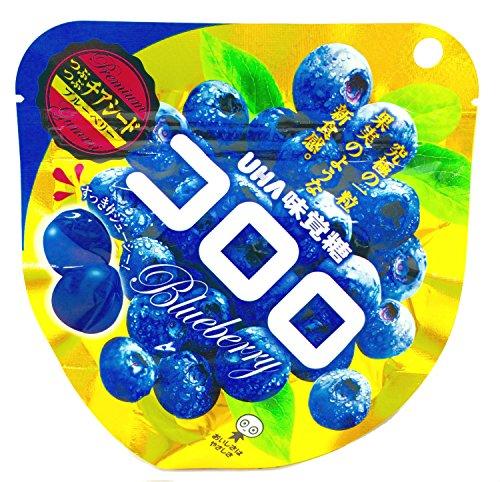 味覚糖 コロロ チアシードブルーベリー 40g×6袋
