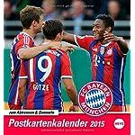 FC Bayern München Sammelkartenkalender 2015