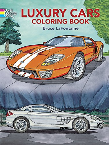 Luxury Cars Coloring Book (Dover History Coloring Book) PDF