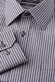 Dri-Guard&#8482; Pure Cotton Shadow Striped Shirt