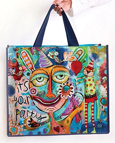 Allen Designs It's Your Party Artistic Shopper Bag