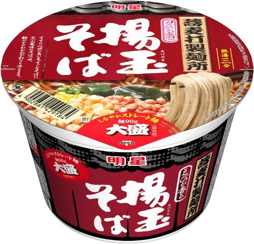 明星 蕎麦打製麺所 大盛揚玉そば 108g×12個