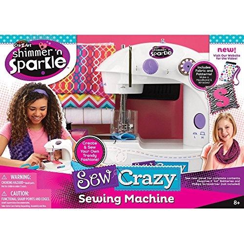 Crazy Art Shimmer n Sparkle Crazy Sewing Machine (Toys Sewing Machine compare prices)