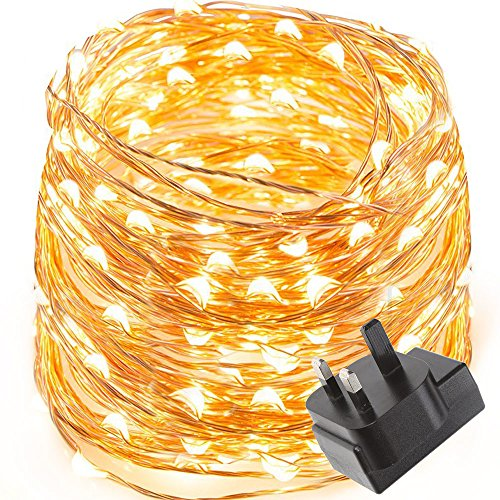 le-waterproof-10m-100-led-copper-wire-lights-power-adapter-included-fairy-starry-string-lights-warm-