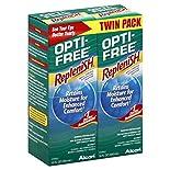 Opti Free Replenish Disinfecting Solution, Multi-Purpose, Twin Pack, 2 - 10 fl oz (300 ml) boxes