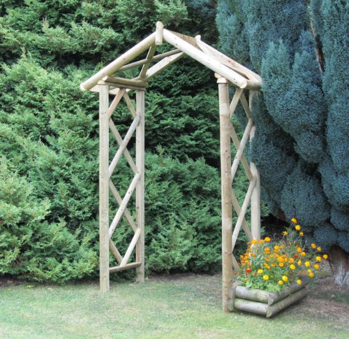 M&M Timber Ltd Cottage Arch 8H X 5 7W X 24D