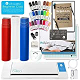 Silhouette Cameo 2 Starter Bundle with Starter Guide, Online Class, 24 Pc. Pens, Full Vinyl Rolls, and More!