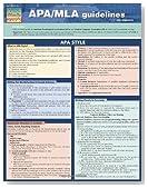 Apa/Mla Guidelines (Quick Study: Academic)
