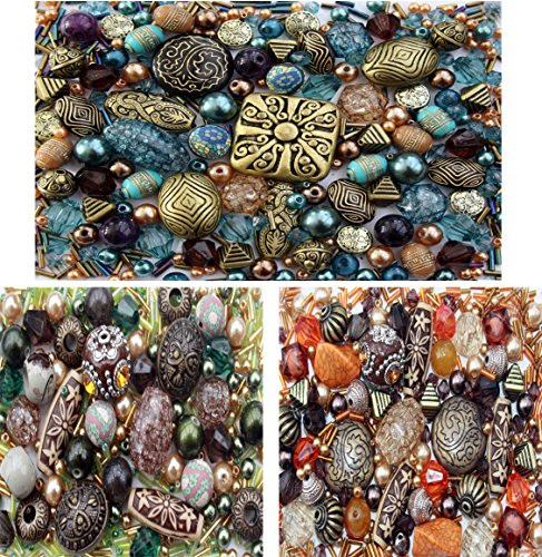 3 x packs of Acrylic Jewelry Making Mixed Beads (Jewelry Starter Kits For Adults compare prices)