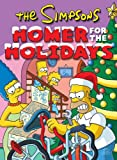 Cover of The Simpsons Homer for the Holidays by Matt Groening 0061876739