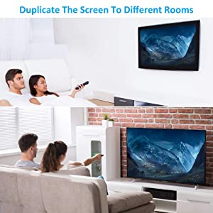 HDMI Splitter 1 in 4 Out V1.4 Powered by US Adapter, Supports 4K/2K 3D Full HD1080P -1 Input to 4 Outputs