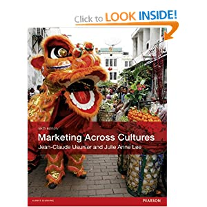Marketing across cultures (6th edition) by jean-claude usunier.