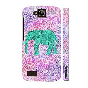 Huawei Honor Holly Elephant Art 6 designer mobile hard shell case by Enthopia