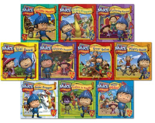 mike-the-knight-10-books-collection-pack-set-mike-the-knight-and-the-great-gallop-ike-the-knight-and