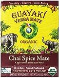 Guayaki Chai Spice Mate Tea Bags, 100% Organic, 16 Tea Bags
