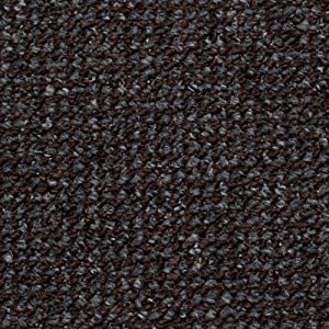 Brown anthracite black carpet roll feltback hardwearing for Black and white berber carpet