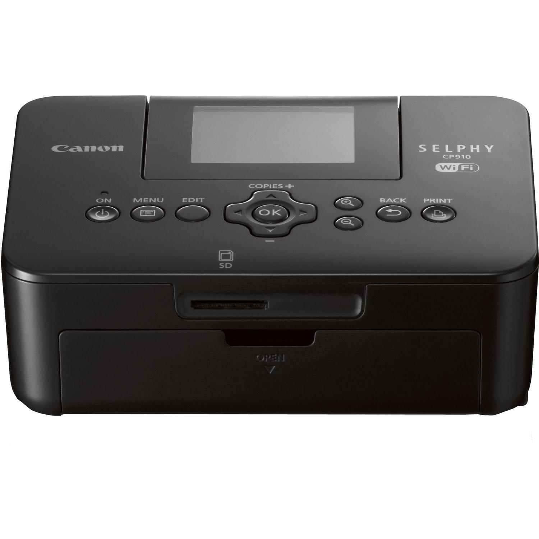 Canon SELPHY CP910 Compact Photo Color Printer, Wireless, Portable
