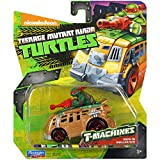Teenage Mutant Ninja Turtles T-Machines Raphael in Shellraiser Diecast Vehicle