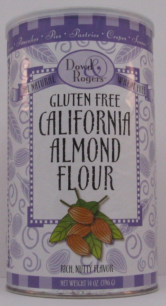 Gluten Free California Almond Flour Dowd And Rogers 14 oz Container gluten free cookbook for kids