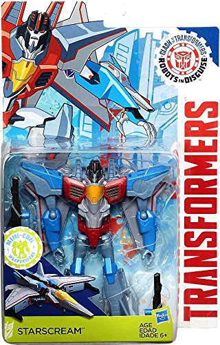 Transformers: Robots in Disguise Clash of the Transformers Starscream Exclusive Figure (Robots Figures compare prices)