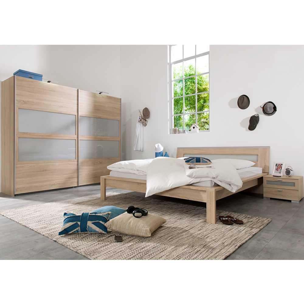 Komplett Schlafzimmer Cristal in Eiche Dekor (4-teilig) Pharao24 online kaufen